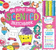 My Super Sweet Scented Sketchbook, Mixed media product Book