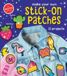 Make Your Own Stick-On Patches, Mixed media product Book