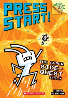 The Super Side-Quest Test!: A Branches Book (Press Start! #6), Paperback Book