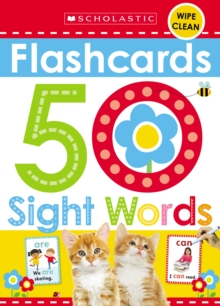 Flashcards - 50 Sight Words (Scholastic Early Learners), Novelty book Book
