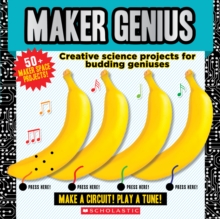 Maker Genius: 50+ Home Science Experiments, Novelty book Book