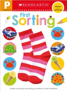 Get Ready for Pre-K Skills Workbook: First Sorting (Scholastic Early Learners), Paperback Book