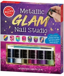 METALLIC GLAM NAIL STUDIO, Paperback Book