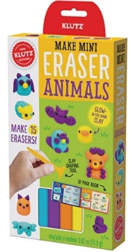 MAKE MINI ERASER ANIMALS, Paperback Book
