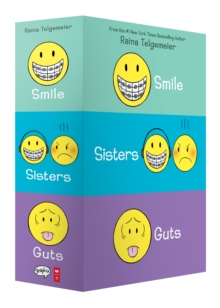 Smile, Sisters, and Guts: The Box Set, Quantity pack Book