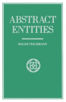 Abstract Entities, Paperback / softback Book