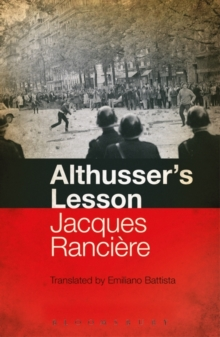 Althusser's Lesson, Paperback Book