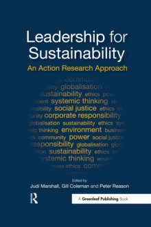 Leadership for Sustainability : An Action Research Approach, EPUB eBook