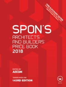 Spon's Architects' and Builders' Price Book 2018, PDF eBook
