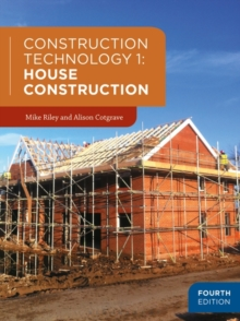 Construction Technology 1: House Construction, Paperback Book