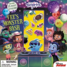 Vampirina Vee's Monster Bash : With Puffy Stickers!, Paperback Book