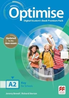 Optimise A2 Digital Student's Book Premium Pack, Mixed media product Book