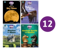 Project X CODE Extra: White and Lime Book Bands, Oxford Levels 10 and 11: Sky Bubble and Maze Craze, Class Pack of 12, Paperback / softback Book