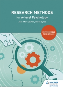 Research Methods for A-level Psychology, Paperback / softback Book