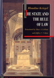 The State and the Rule of Law, PDF eBook