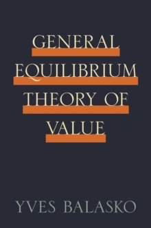 General Equilibrium Theory of Value, EPUB eBook