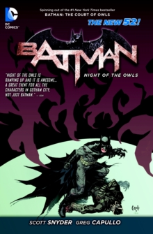 Batman Night Of The Owls (The New 52), Paperback / softback Book