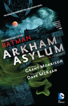 Batman Arkham Asylum 25Th Anniversary, Paperback Book