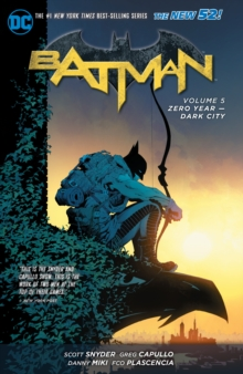 Batman Volume 5: Zero Year  - Dark City TP (The New 52), Paperback Book