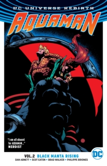 Aquaman TP Vol 2 Black Manta Rising (Rebirth), Paperback Book