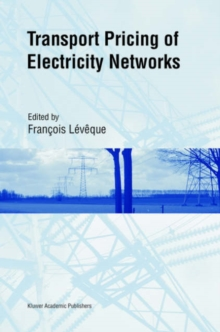 Transport Pricing of Electricity Networks, Hardback Book