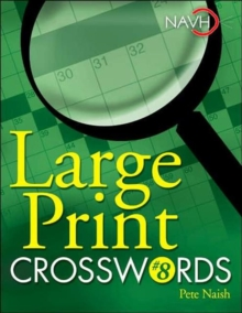 Large Print Crosswords #8, Spiral bound Book