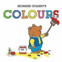 Richard Scarry's Colours, Board book Book