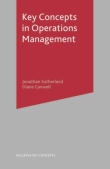 Key Concepts in Operations Management, Paperback / softback Book