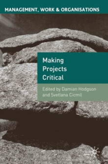 Making Projects Critical, Paperback / softback Book