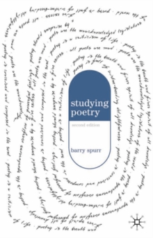 Studying Poetry, Paperback / softback Book