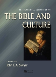 The Blackwell Companion to the Bible and Culture, Hardback Book