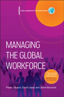 Managing the Global Workforce, Hardback Book