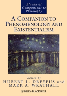 A Companion to Phenomenology and Existentialism, Hardback Book
