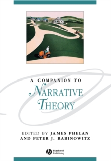 A Companion to Narrative Theory, Hardback Book