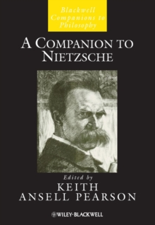 A Companion to Nietzsche, Hardback Book