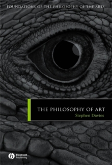 The Philosophy of Art, Hardback Book