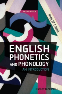 English Phonetics and Phonology - an Introduction, Paperback Book