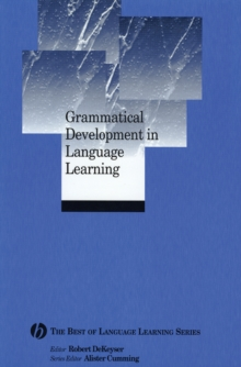 Grammatical Development in Language Learning, Paperback Book