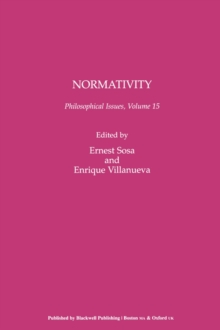 Normativity, Paperback Book
