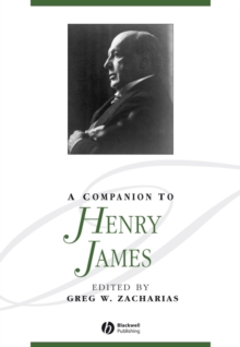 A Companion to Henry James, Hardback Book