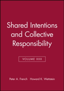 Shared Intentions and Collective Responsibility, Paperback / softback Book