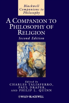 A Companion to Philosophy of Religion, Hardback Book