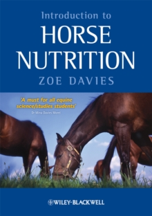 Introduction to Horse Nutrition, Paperback / softback Book