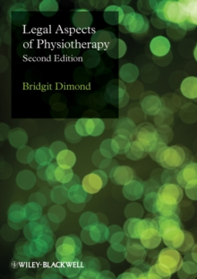 Legal Aspects of Physiotherapy, Hardback Book
