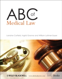 ABC of Medical Law, Paperback / softback Book