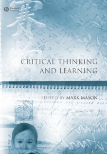 Critical Thinking and Learning, Paperback Book