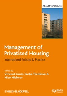 Management of Privatised Housing : International Policies and Practice, Hardback Book