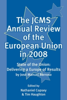 The JCMS Annual Review of the European Union in 2008, Paperback / softback Book