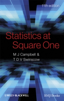 Statistics at Square One, Paperback Book