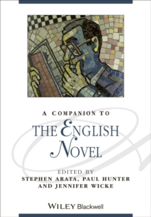 A Companion to the English Novel, Hardback Book